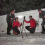 Die Schneewalmen unterhalb des Hinterweissensteins waren auch schon einen Meter höher als am Donnerstag 23. Februar 2012