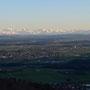 westliche Berner Alpen in den letzten Sonnenstrahlen