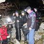 Gruppenfoto vor dem Abstieg