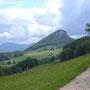 Letzter Blick zurück vom Hofbergli zu Rüttelhorn und Vorderer Schmiedenmatt