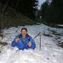 Auf der Donnerstagswanderung vom 14. April 2009 fällt der Wanderleiter auf der Rötipiste in einen Gletscherspalt und opfert dabei einen Wanderstock