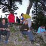 Unvergessliche Einladung zu Grillabend und Sonnenuntergang auf dem Gwidem am 6. August 2009