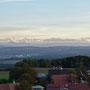Wolfisberg und Berner Alpen