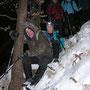 Bei sämtlichen Gipfelabfahrten muss Alex im Zweierbob nun vorne sitzen