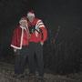 Das Chlausen Duo auf dem neu angelegten und schönen Roggenpfad Nr. 2