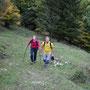 Tolle Herbstwanderbedingungen