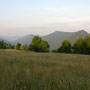 Blick zu Chamben, Rüttelhorn und Röti