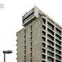 1967 - DENTSU HEADQUARTERS BLDG - Chuo ward, Tokyo - architect: Kenzo Tange - image © robert baum tokyo, 30 September 2009