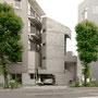 1966 - AZUMA RESIDENCE (TOWER HOUSE) - Shibuya ward, Tokyo - architect: Azuma Takamitsu - image © robert baum tokyo, 4 July 2010