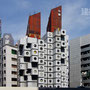 1972 - NAKAGIN CAPSULE TOWER - Chuo ward, Tokyo - architect: Kurokawa Kisho - image © robert baum tokyo, 19 July 2010