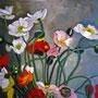 Stillleben mit Anemonen, Öl, 2009, 50 x 60 cm
