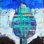o.T. 1 2014, Acryl, 100 x 120 cm