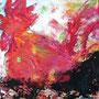 Red Rooster, 2015, Acryl-Mischtechnik, 40 x 40 cm