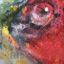Happy Fish, Detail, 2013, Acryl Mischtechnik, 120 x 100 cm