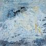 o.T. 2/2016, Mischtechnik, Sande, Pigmente, Gips, Tinte, 80 x 80 cm