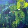 o. T. 2 2013, Acryl, 120 x 100 cm