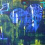 o. T. 1 2013, Acryl, 120 x 100 cm