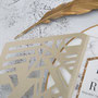 Lasercut Pocketfold Karte #LPFC2131  Detail Ornament