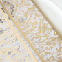 Lasercut Karte #B0171 in Metallic Gold