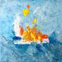 a funny trip of sea, 50 x50, 150,00 €