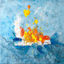 a funny trip of sea, 50 x50, 150,00 €