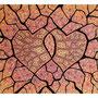 03: ALOHA – In Liebe verbunden / 2011 / Filzstift und Farbstift auf Papierkarton / 64x50 / Original: VERKAUFT