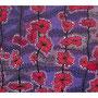 32:  HANA LEI – Blumenzauber / 2014 / Acryl, Gouache und Filzstift auf Papierkarton / 100x70 – Original: CHF 2000