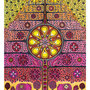 16:  LA'AKEA – Liebeslicht / 2013 / Acryl und Filzstift auf Papierkarton / 70x100 / Original: VERKAUFT