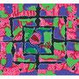 21: KU-LIKE – Die Form verändern / 2013 / Mischtechnik auf Papierkarton / 100x70 / Original: CHF 2'000