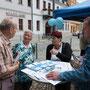 Jörg Paukstedt von der Lebenshilfe Region Spremberg e.V. informierte über die Arbeit des Vereins
