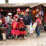 Der Markt in Ollantaytambo