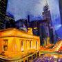 L'Empire State building ( huile sur toile 155x135)