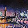 Le pont Alexandre III ( huile sur toile 200x160 )