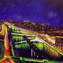 Paris la nuit (huile sur toile 155x135)