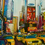 New York urban jungle 2 (huile sur toile 100x81) *