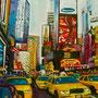 New York urban jungle 2 (huile sur toile 100x81) *
