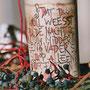 Unikate mit Schriftdekor - Almut Witt Keramik