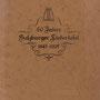 Festschrift anlässlich 80 Jahre Salzburger Liedertafel. Außenseite