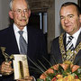 Manfred Bruns und Oberbürgermeister Boris Pistorius