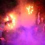 Feuershow bei Wörner Pflanzenparadies