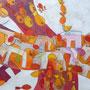 'Die Kreuzung' (80 x 100 cm)