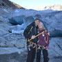 Gletscherbesteigung