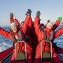Ribboottocht - Photocredits: Agurtxane Concellon / Hurtigruten Svalbard