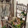 """Chaise/Chair Aquarelle/Watercolor - 24x32cm - Canson aquarelle 300g - Mai 2012 - Réalisée d'après photo de """"Un coeur en Provence"""""""