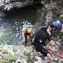 Canyoning an den Kessellöchern