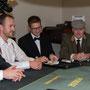 Das Pokerturnier beginnt