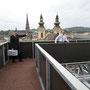 Verfolgungsjagd über den Dächern von Linz