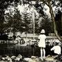1940-1944 | Оптимистический парк у подножия горы Асахигаока The park in the ground of Karahuto shrine (юг)