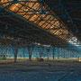 """tOG-M.S.014 - """"Ein Platz an der Sonne - A Place at the Sun"""" - Bahnausbesserungswerk Ruhrgebiet NRW Germany - Cycle/ worked-OUT - 2013 - Edition 2/ 80 x 120 cm, Echtfotoabzug Alu-Dibond mit UV-Laminierung - Courtesy tOG-Düsseldorf (c) M. Sander"""
