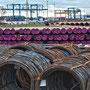 """tOG-M.S.055 - """"Aufgerollt"""" - Hafen - Ruhrgebiet NRW Germany - Cycle/ @work- 2012 - Edition 2/ 60 x 90 cm, Echtfotoabzug Alu-Dibond mit UV-Laminierung - Courtesy tOG-Düsseldorf (c) M. Sander"""